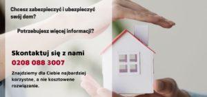 Chcesz zabezpieczyć dom przed wyjazdem? Pamiętaj o ubezpieczeniu domu w UK